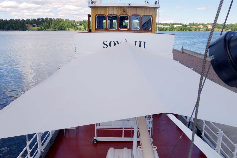 Alfa Bilklädsel & Sadelmakeri - Soltak - Båtkapell - Fartyget Soya III