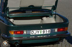 Alfa Bil & Båt Sadelmakeri - Inredning - Bilinredning - Specialtillverkad - BMW 2800 CS - 1970