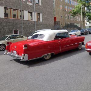 Alfa Bil & Båt Sadelmakeri - Cabriolet - Cab - Cadillac - 1954 - cabriolet till cadillac