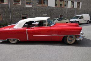 Alfa Bil & Båt Sadelmakeri - Cabriolet - Cab - Cadillac - 1954